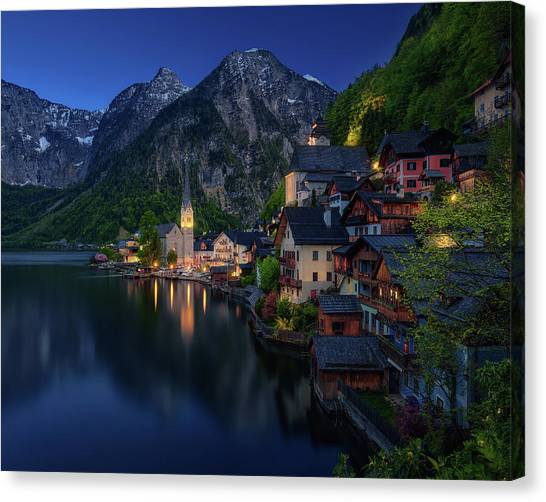 Cathedrals Canvas Print - Tourist View. by Juan Pablo De