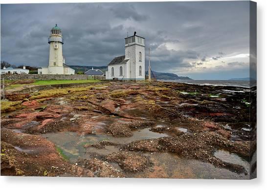 Toward Lighthouse  Canvas Print
