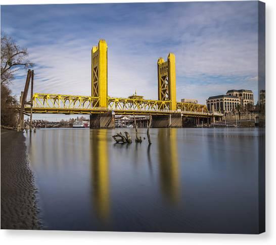 Drexel University Canvas Print - Tower Bridge by Lee Harland