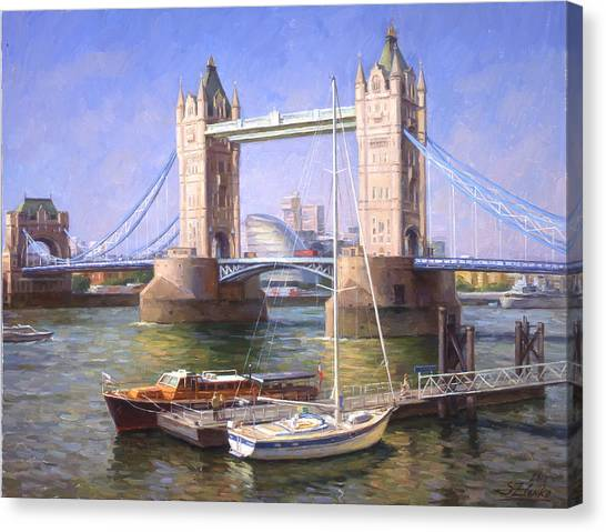 Tower Bridge.london Canvas Print