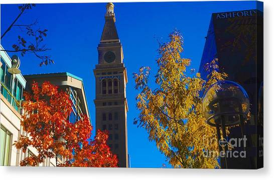 Tower Canvas Print by Kirk  Montgomery
