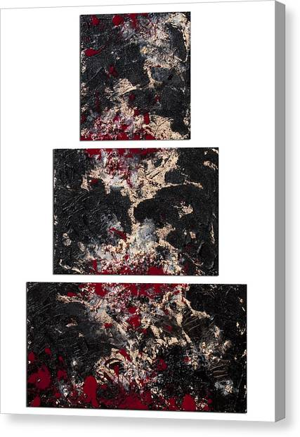 Lyrical Abstraction Canvas Print - Tower Of Babel by Sora Neva