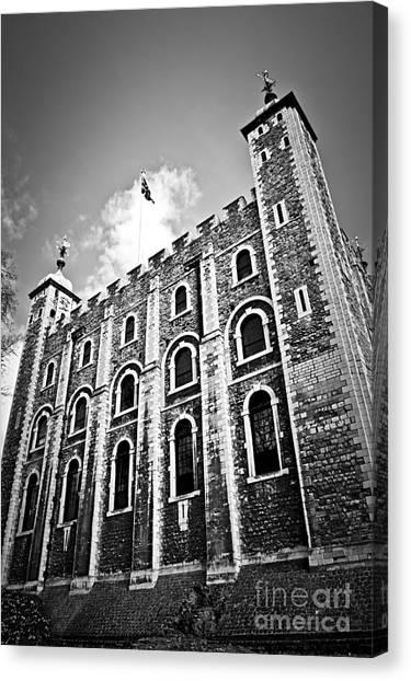 Royal Guard Canvas Print - Tower Of London by Elena Elisseeva