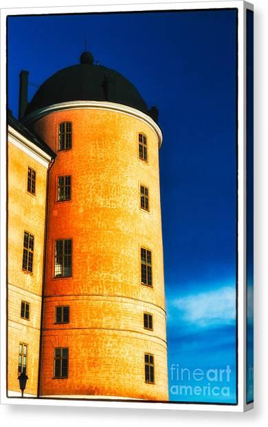 Tower Of Uppsala Castle - Sweden Canvas Print
