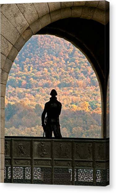 Tower Of Victory Canvas Print