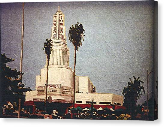 Tower Theatre Canvas Print by Paul Guyer