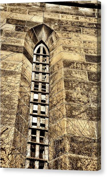 Towering Prison Canvas Print by JAMART Photography