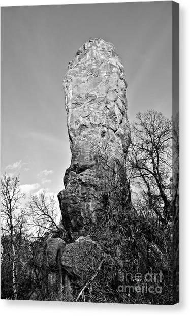 Towering Rock Canvas Print