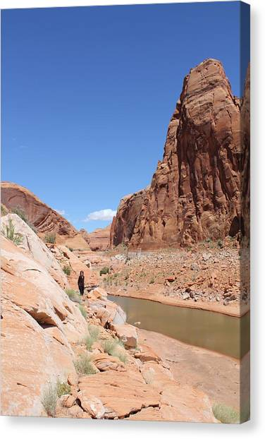Canvas Print - Towering Rock by Christine Rivers