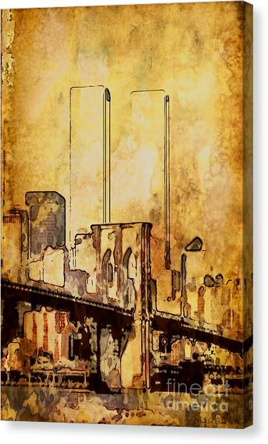 Towers Remembered  Canvas Print