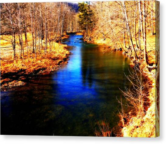 Town Creek Canvas Print