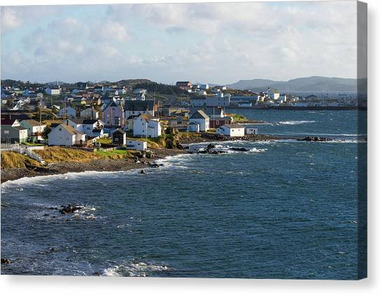 Newfoundland And Labrador Canvas Print - Town Of Twillingate, Newfoundland by Panoramic Images