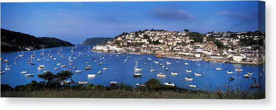 Ham Canvas Print - Town On An Island, Salcombe, South by Panoramic Images