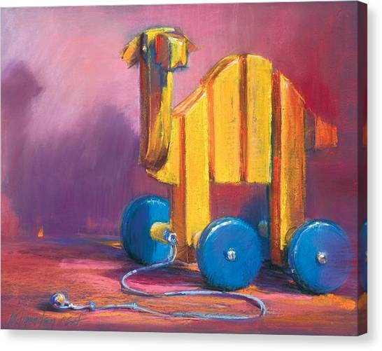 Toy Camel Canvas Print by Beverly Amundson