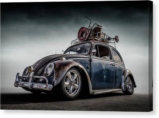 Bugs Canvas Print - Toyland Express by Douglas Pittman