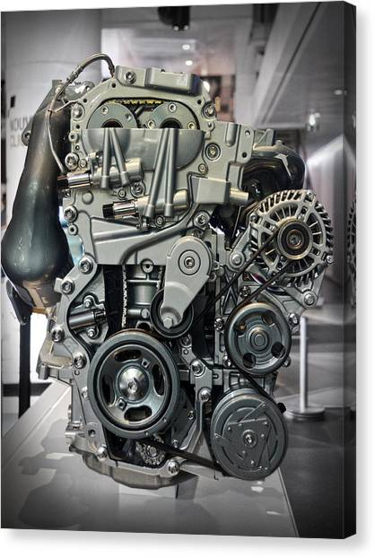 Toyota Engine Canvas Print