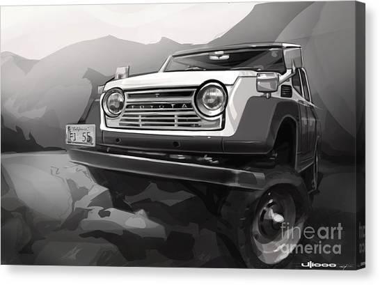 Off Canvas Print - Toyota Fj55 Land Cruiser by Uli Gonzalez