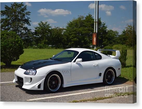 Toyota Supra Canvas Print