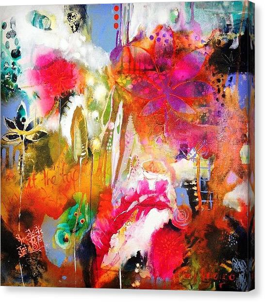 Colour Canvas Print -  We Dwell In Possibility.2014 by Tracy Verdugo