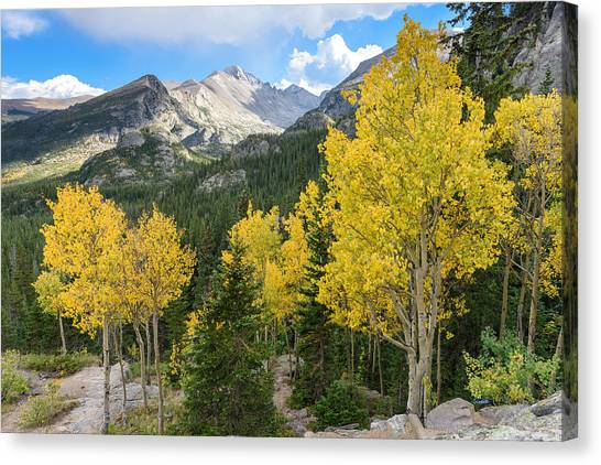 Trail To Dream Canvas Print by Robert Yone