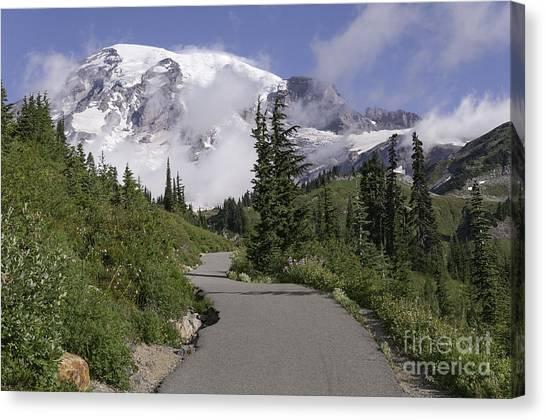 Trail To Edith Creek Canvas Print