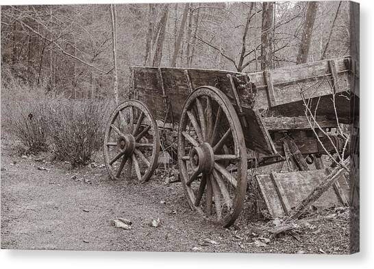 Trail's End Canvas Print by William Culler