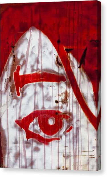 Michael Jackson Canvas Print - Train Graffiti Michael Jackson by Carol Leigh