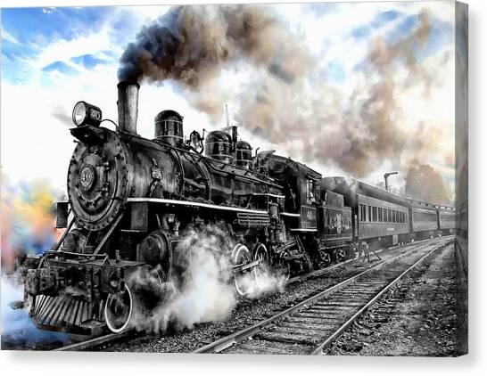 Train I Canvas Print