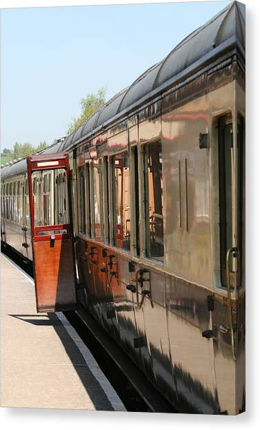 Train Transport Canvas Print