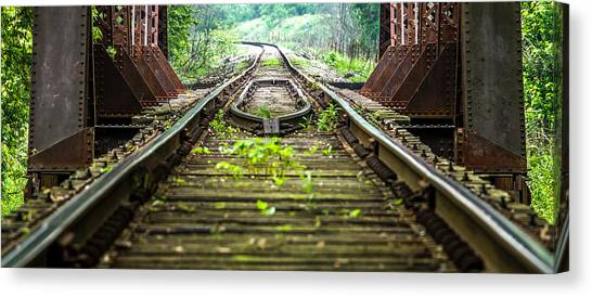 Train Trestle 2 Canvas Print