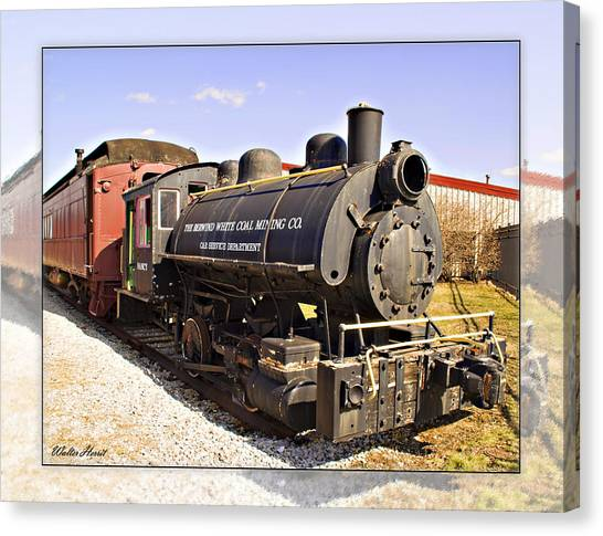 Train Canvas Print