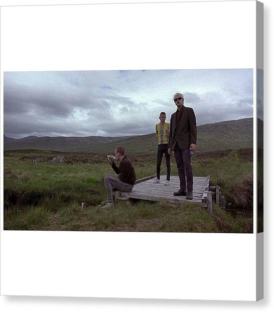 Trainspotting Canvas Print - #trainspotting by Marco Lombardi