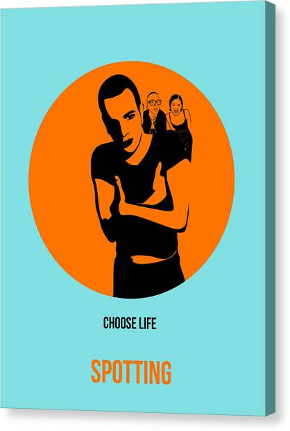 Trainspotting Canvas Print - Trainspotting Poster 1 by Naxart Studio