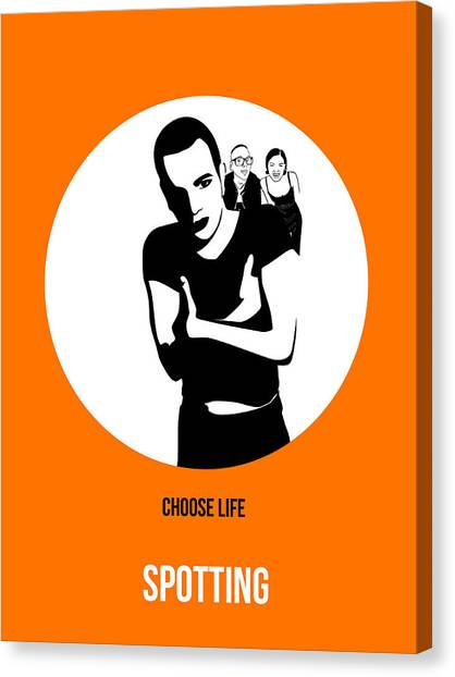 Trainspotting Canvas Print - Trainspotting Poster 2 by Naxart Studio