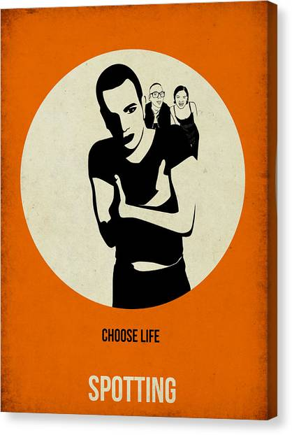 Trainspotting Canvas Print - Trainspotting Poster by Naxart Studio