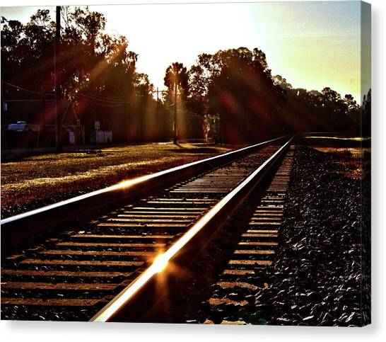 Traintastic Canvas Print
