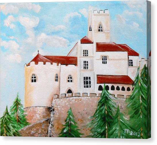 Trakoscan Canvas Print by Tomislav Neely-Turkalj