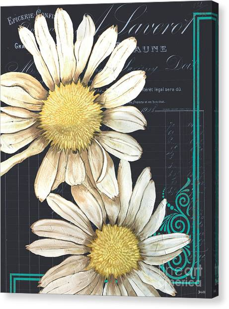 Daisies Canvas Print - Tranquil Daisy 1 by Debbie DeWitt