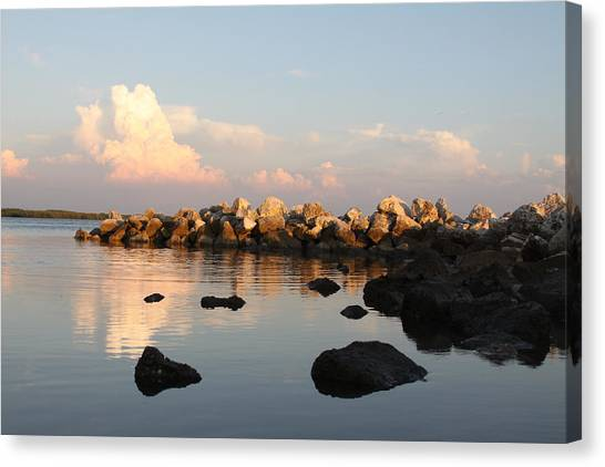 Tranquil Inlet Canvas Print