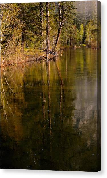 Tranquil Merced River Canvas Print