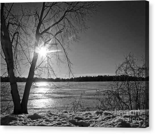 Tranquil Sunset Canvas Print