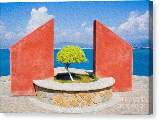 Tranquil Surroundings Canvas Print