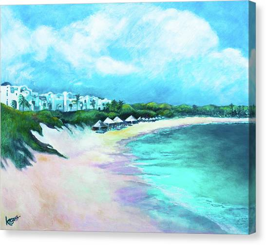 Tranquility Anguilla Canvas Print
