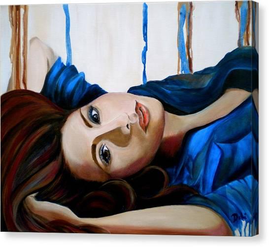 Calm Down Canvas Print - Tranquility by Debi Starr
