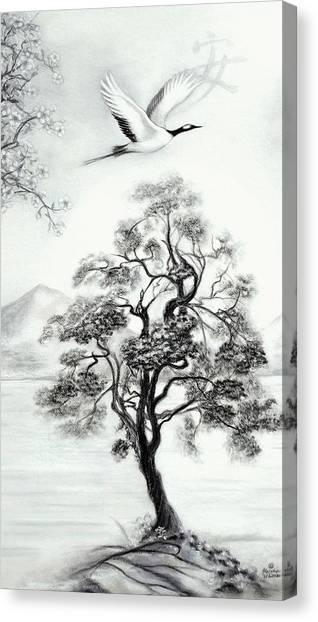 Tranquility II Canvas Print by Melodye Whitaker