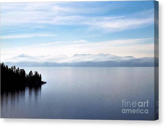 Tranquility - Lake Tahoe Canvas Print