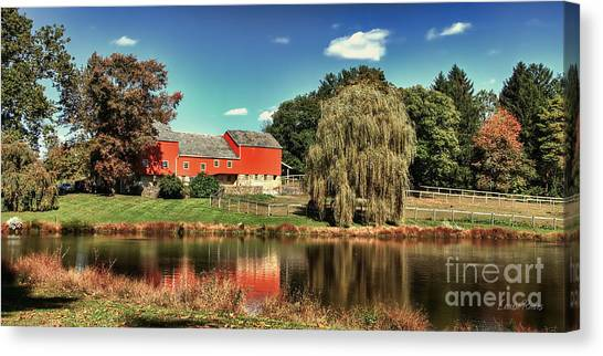 Tranquility Canvas Print by Louise Reeves