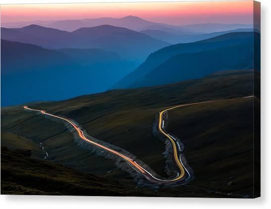 Transalpina Canvas Print