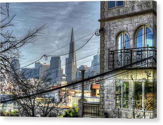 Transamerica View Canvas Print