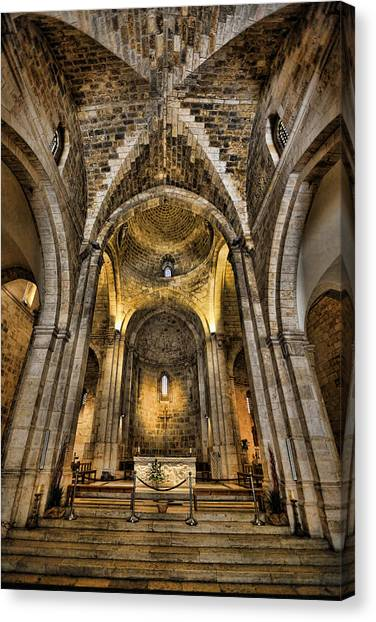 Byzantine Art Canvas Print - Transcendent by Stephen Stookey